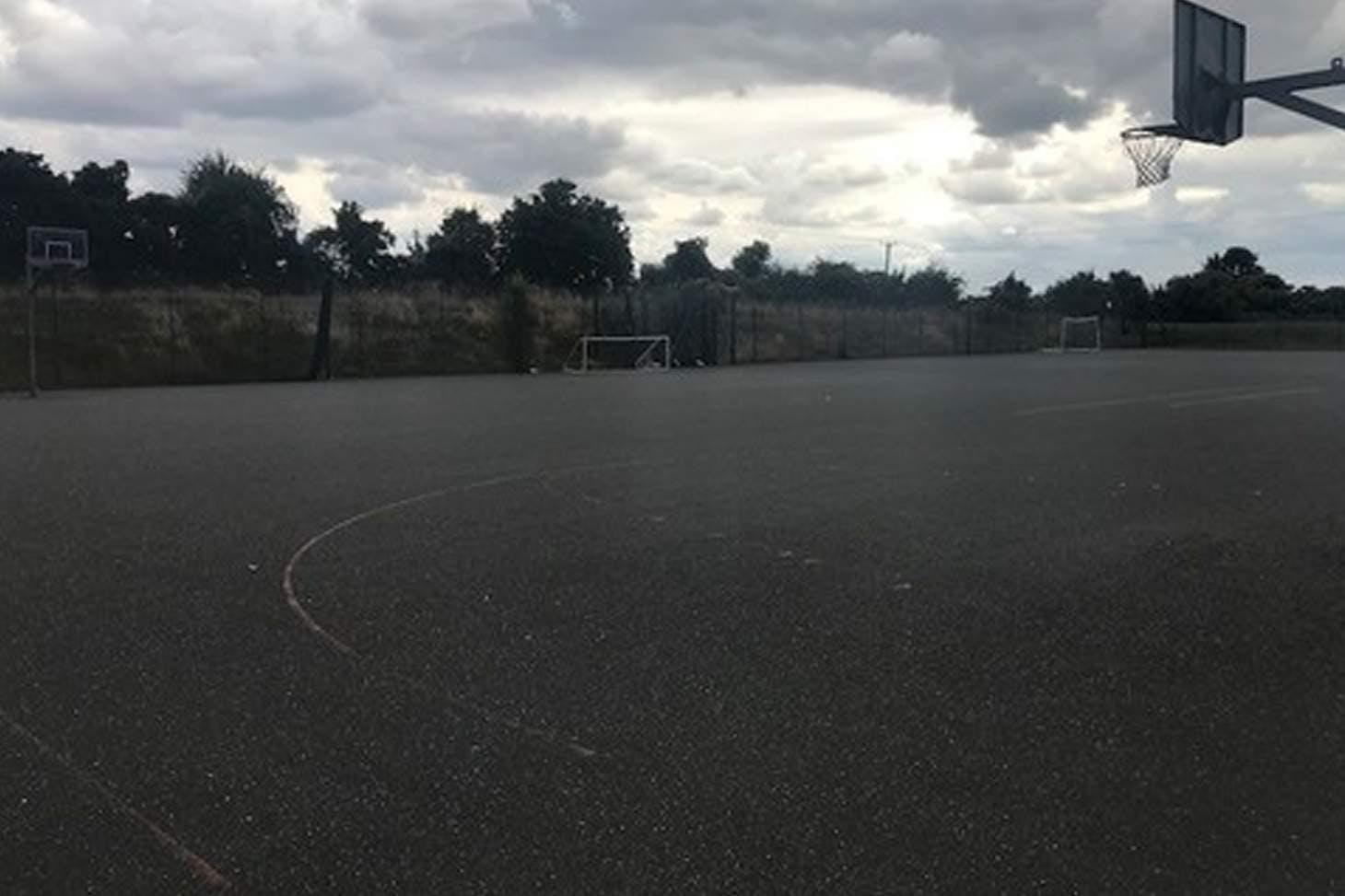 Princes Risborough School 5 a side | Concrete football pitch