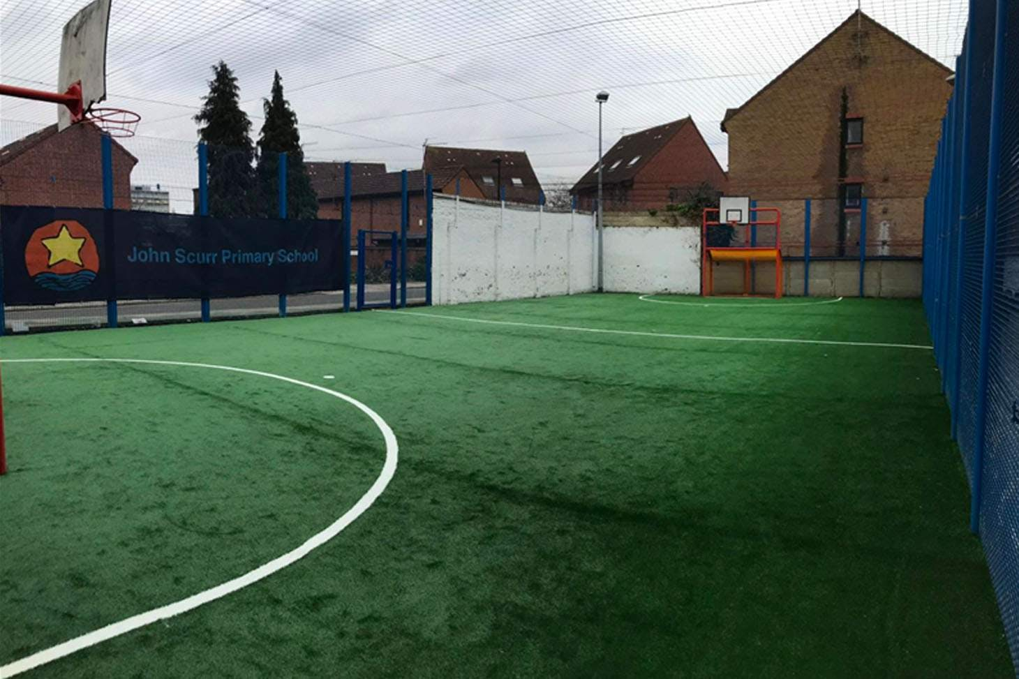 John Scurr Primary School 5 a side | 3G Astroturf football pitch