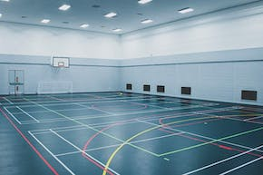 Global Academy, Hayes | Sports hall Badminton Court