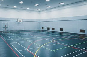 Global Academy, Hayes | Sports hall Basketball Court
