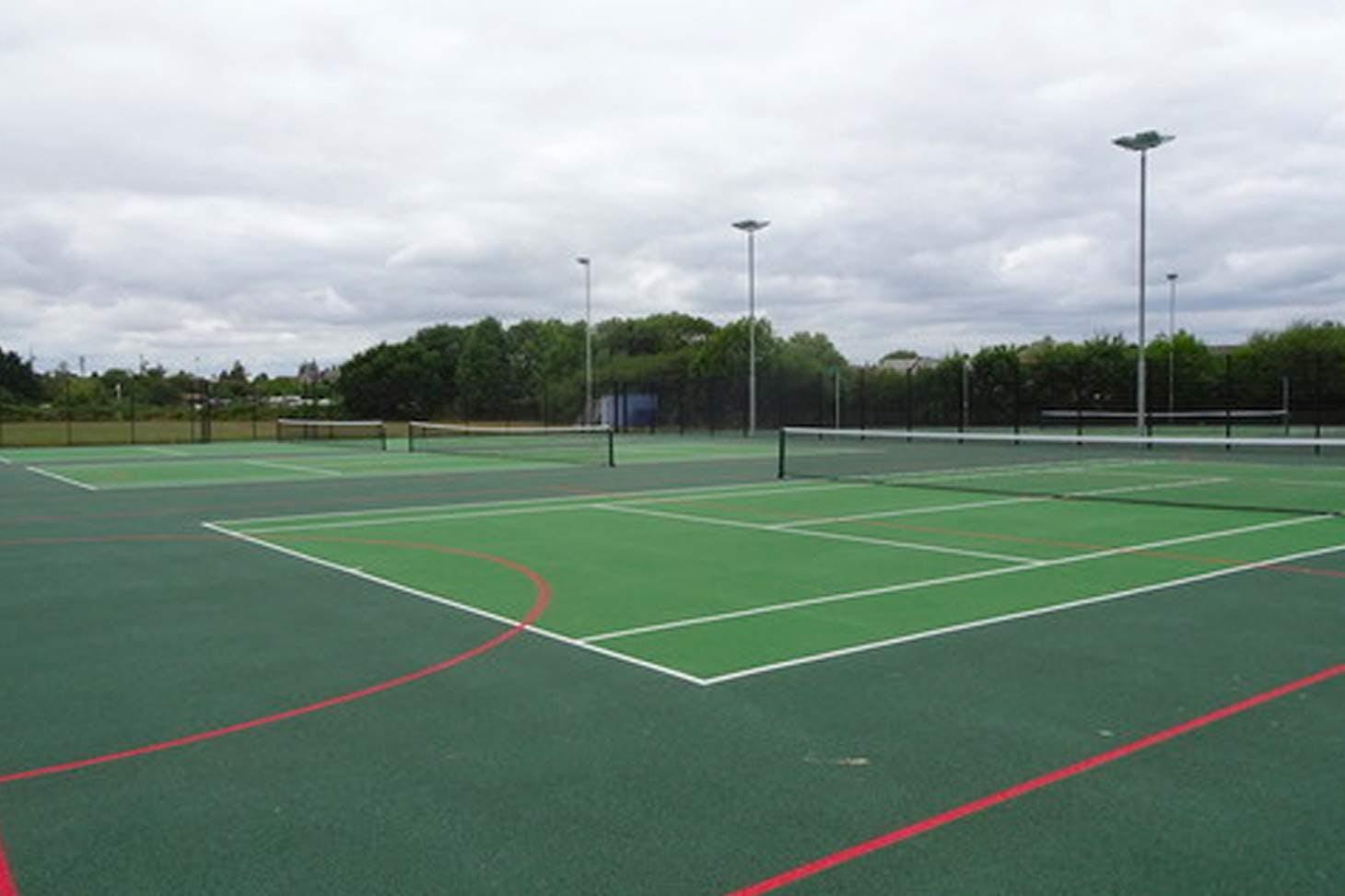 Trevelyan Middle School Outdoor | Hard (macadam) tennis court