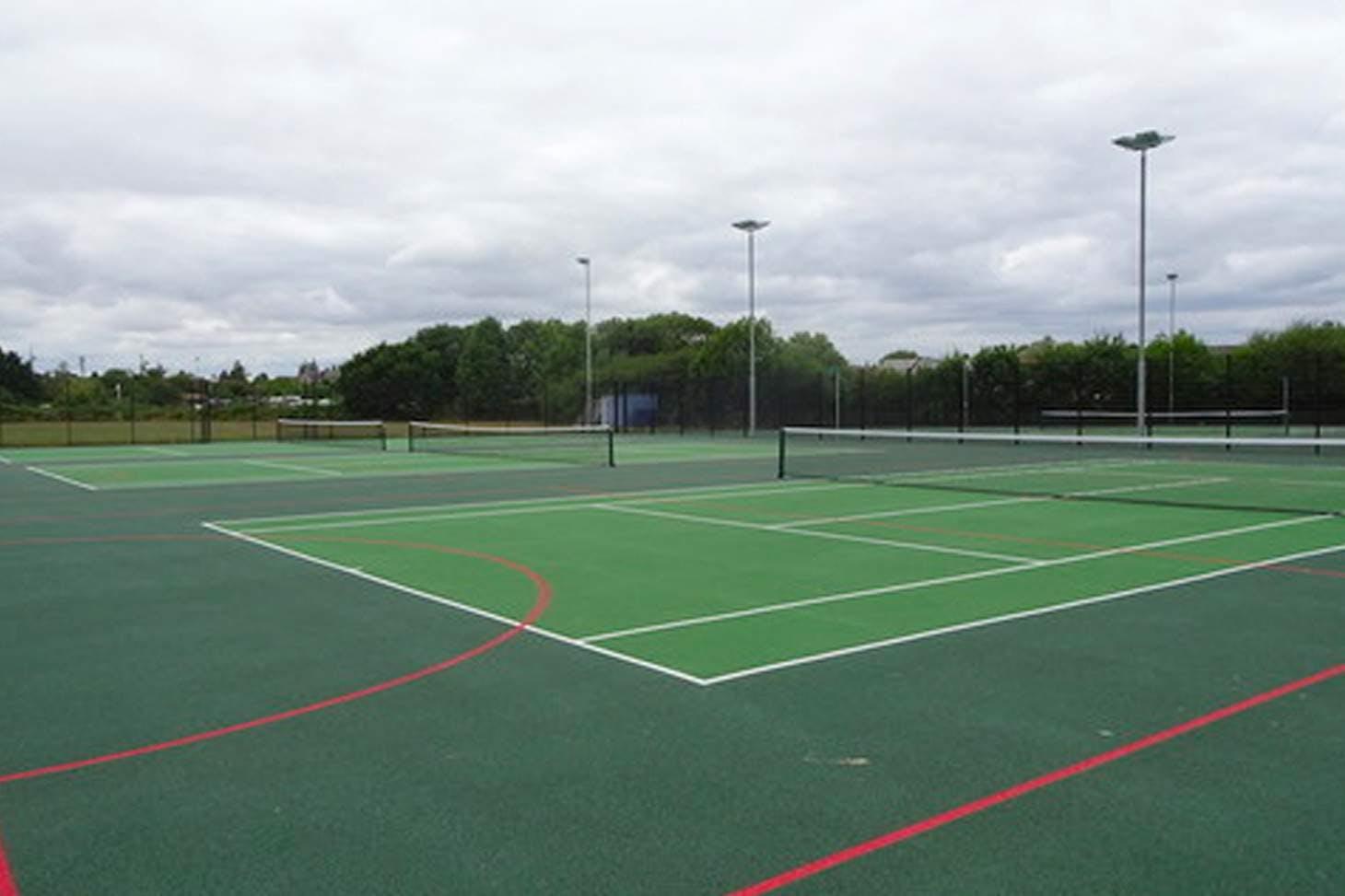 Trevelyan Middle School Outdoor | Hard (macadam) netball court
