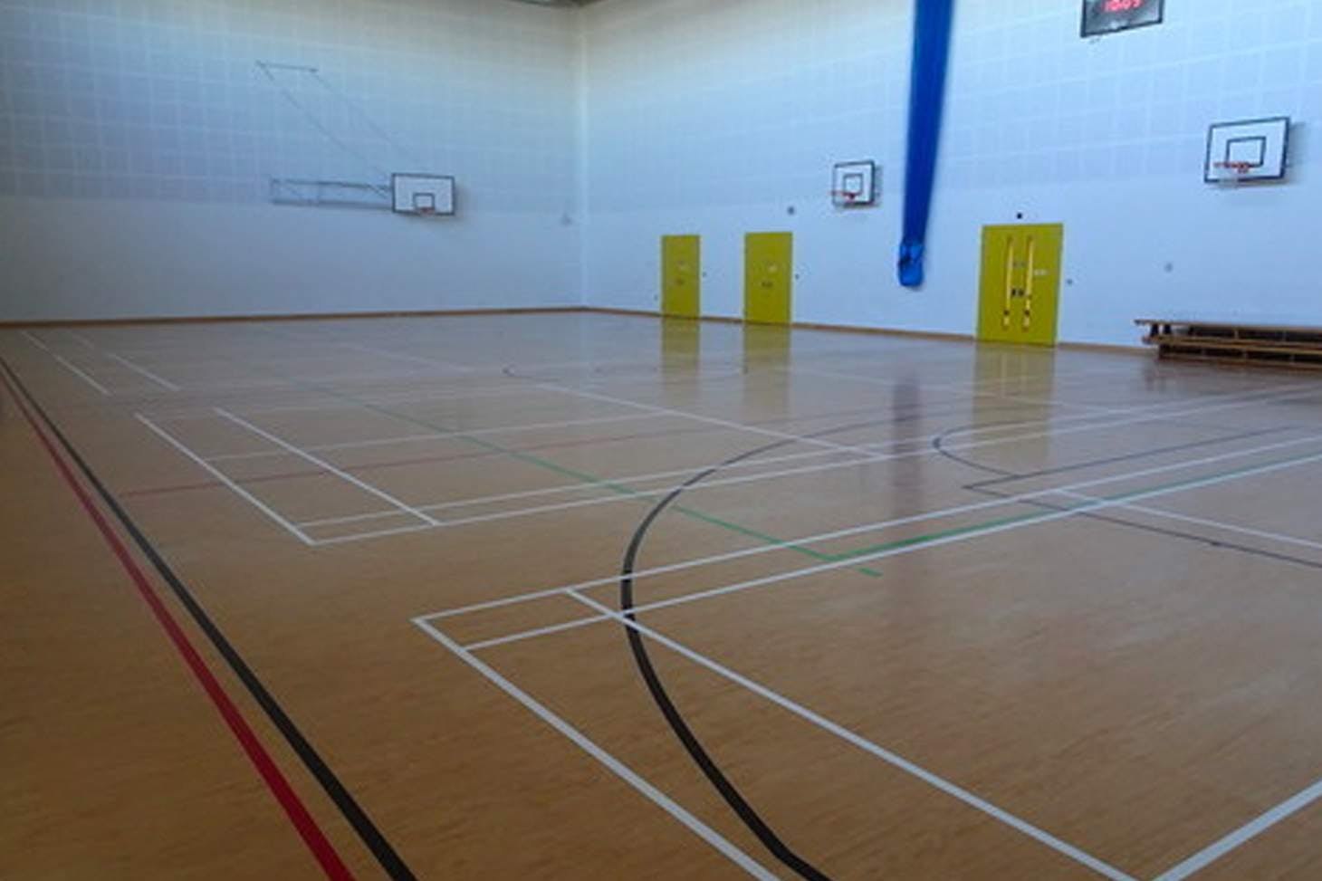 Our Lady's Convent High School Court | Sports hall basketball court