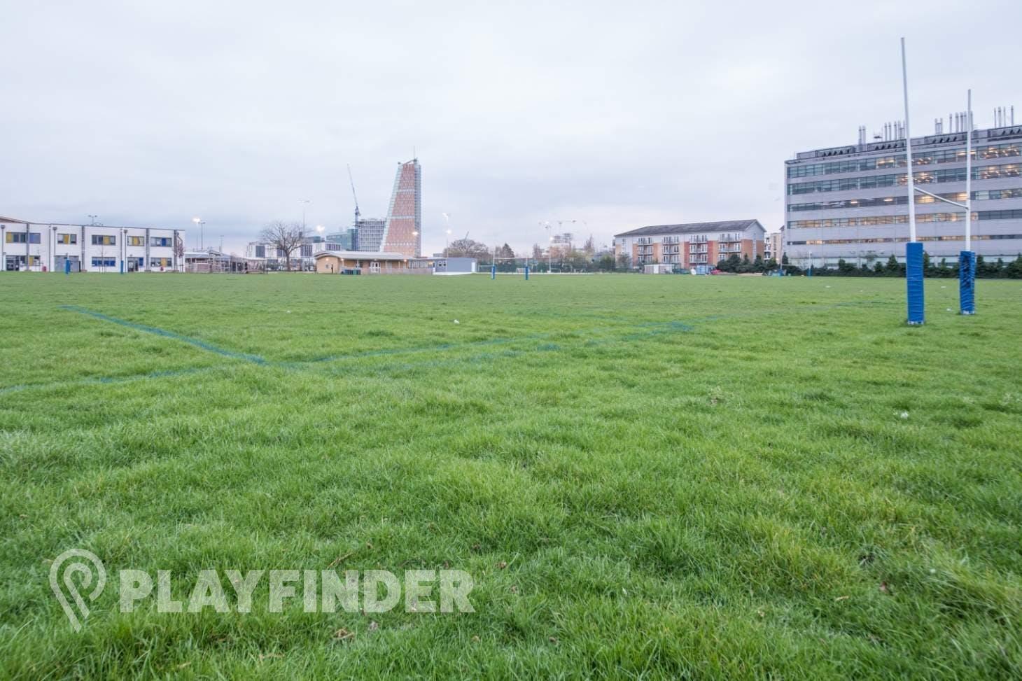 Ark Burlington Danes Academy Pitch | Grass rugby pitch