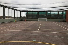Our Lady's Convent High School | Concrete Football Pitch