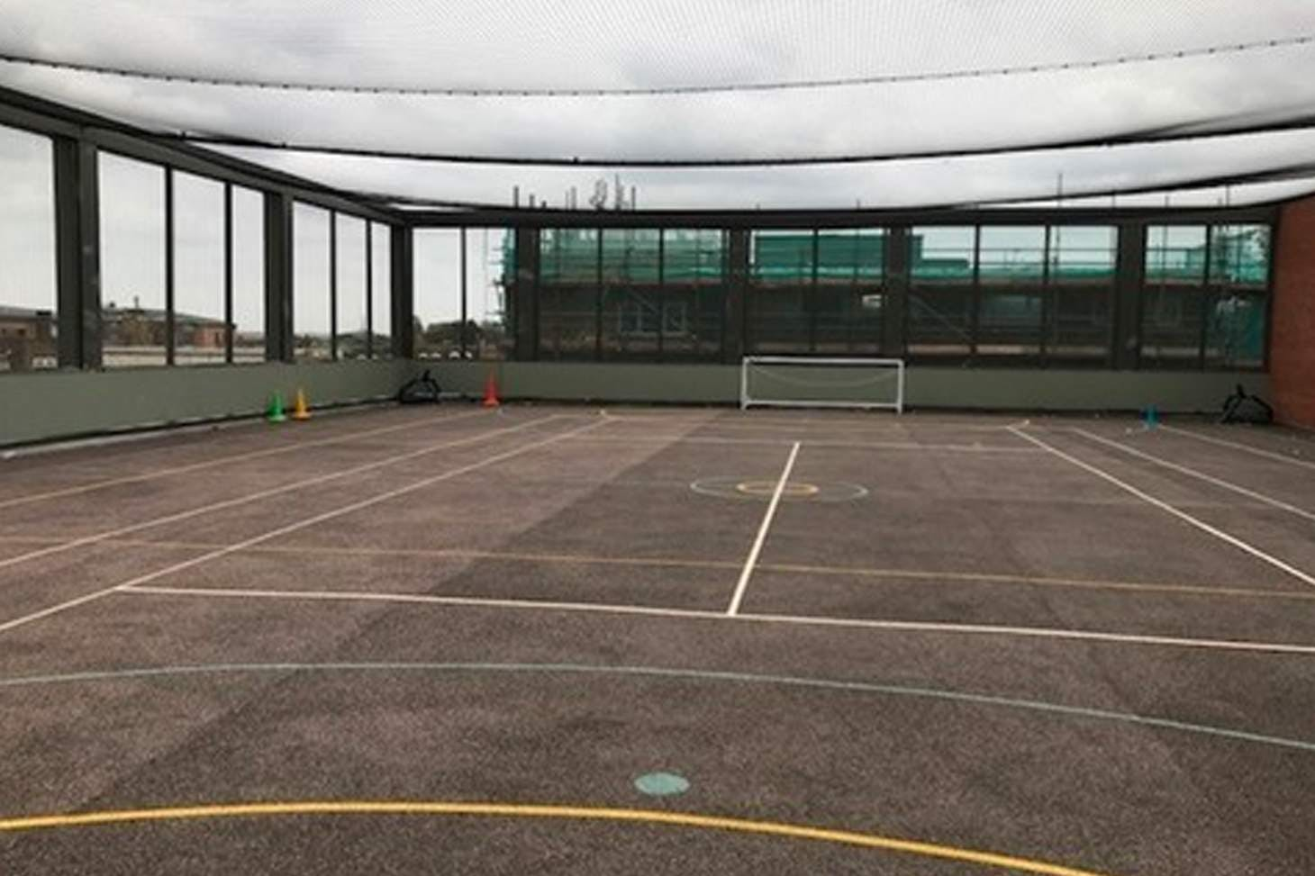 Our Lady's Convent High School Court | Hard (macadam) netball court