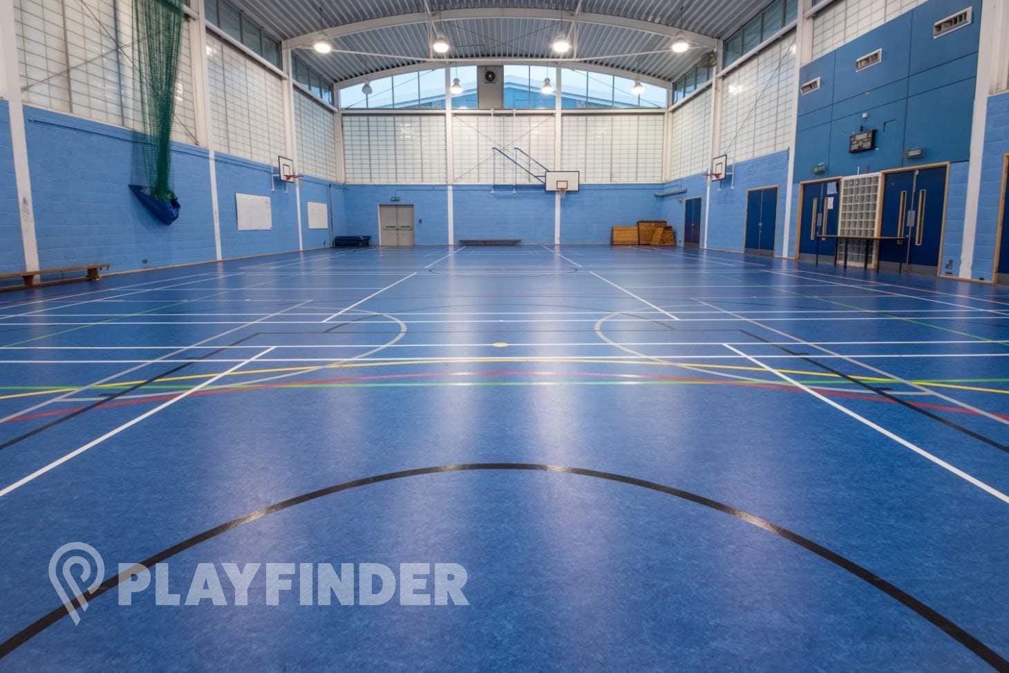 Ark Burlington Danes Academy Court   Sports hall badminton court