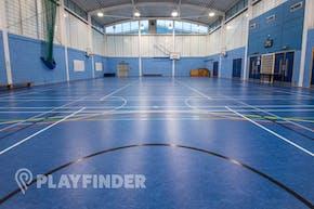 Ark Burlington Danes Academy | Sports hall Badminton Court