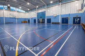 Ark Burlington Danes Academy | Sports hall Basketball Court