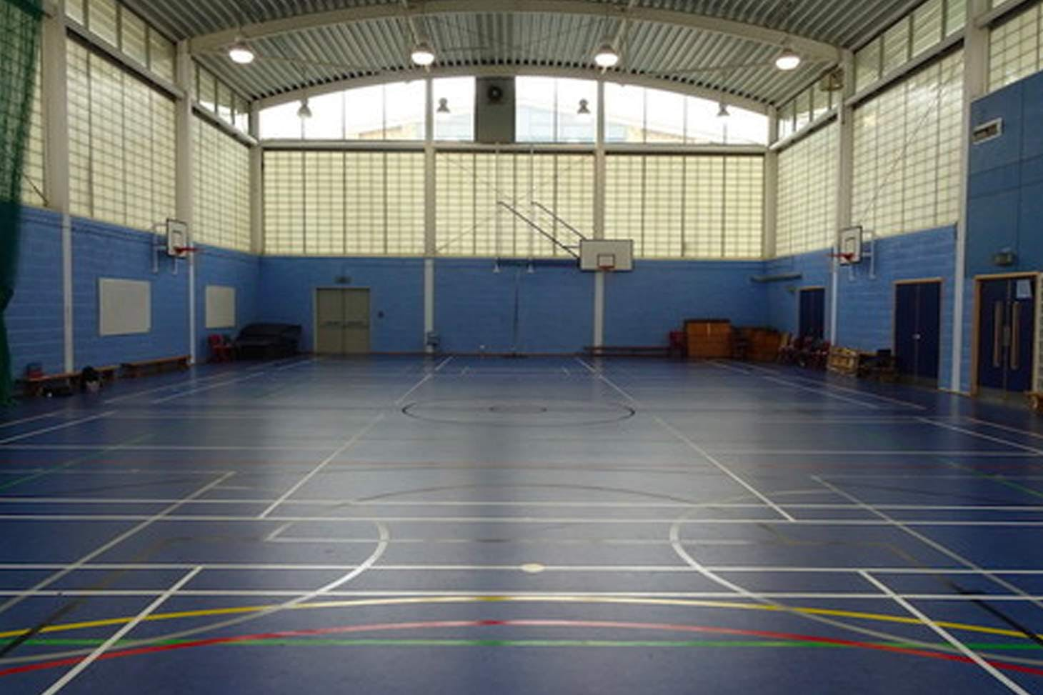 Ark Burlington Danes Academy Sports hall space hire