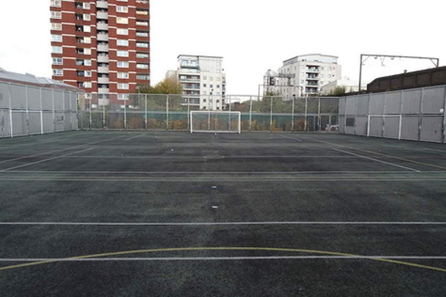 Bishop Challoner Catholic Federation of Schools Court | Hard (macadam) netball court