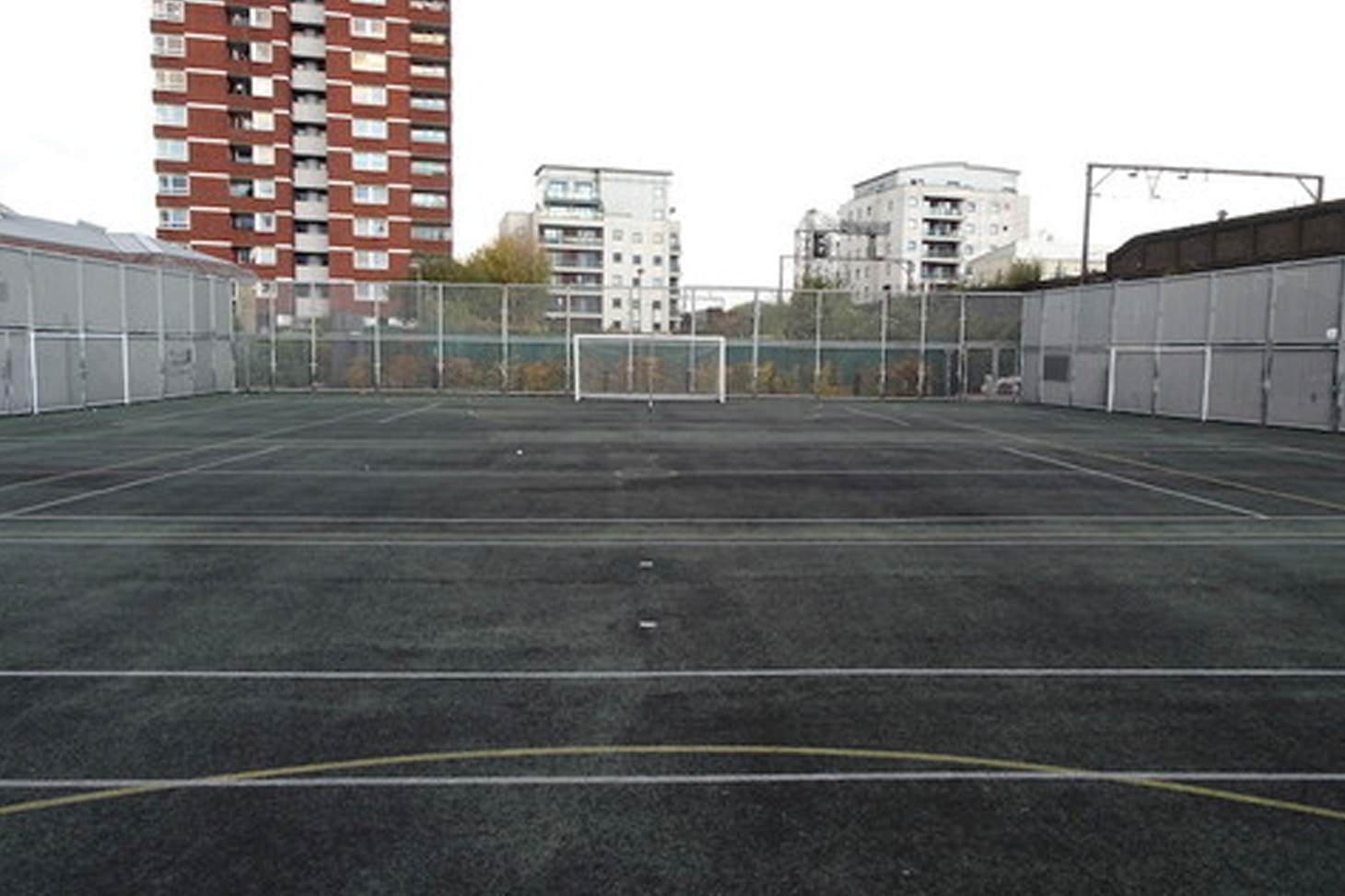 Bishop Challoner Catholic Federation of Schools 7 a side | Concrete football pitch