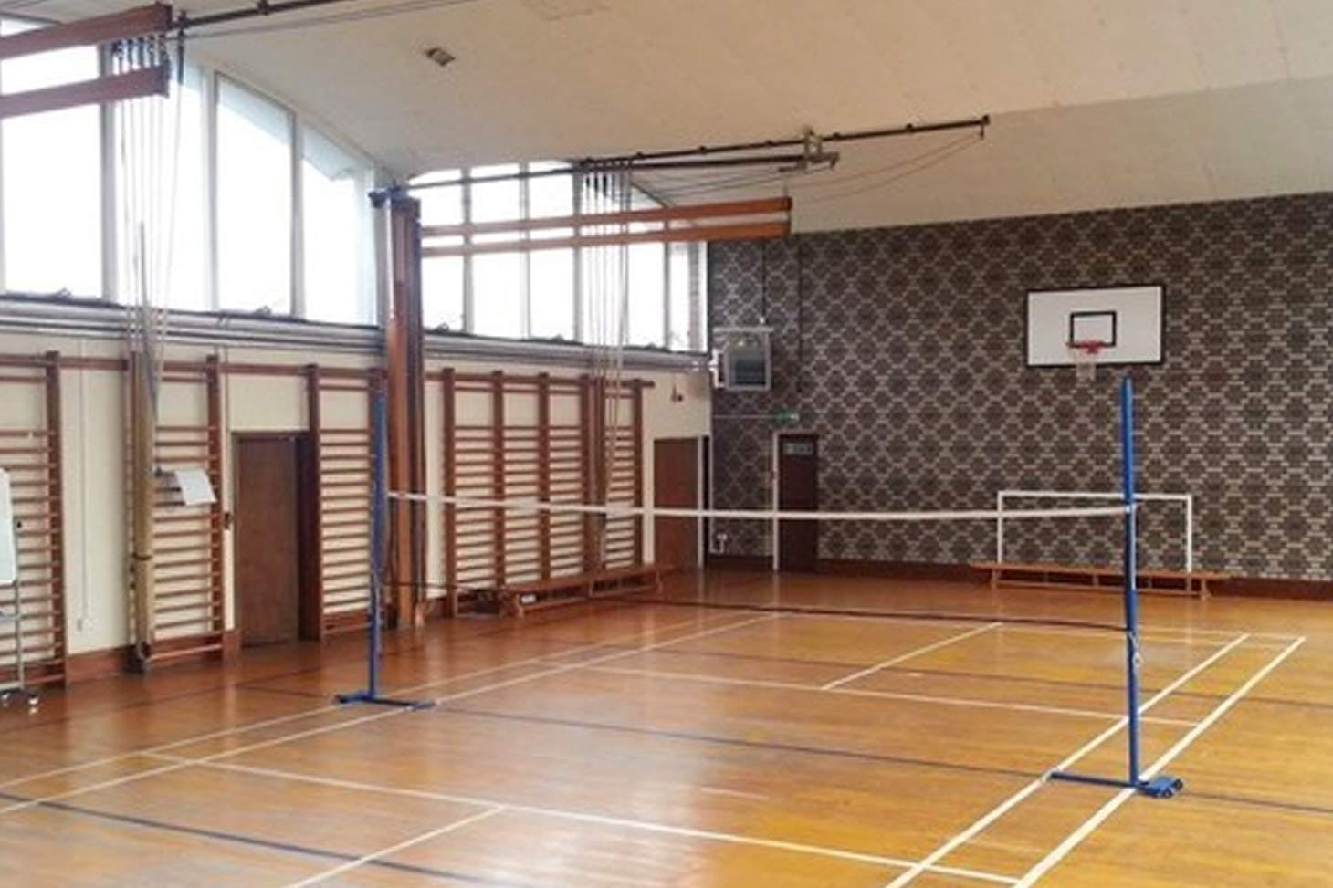 Ursuline Academy Ilford Court | Sports hall basketball court