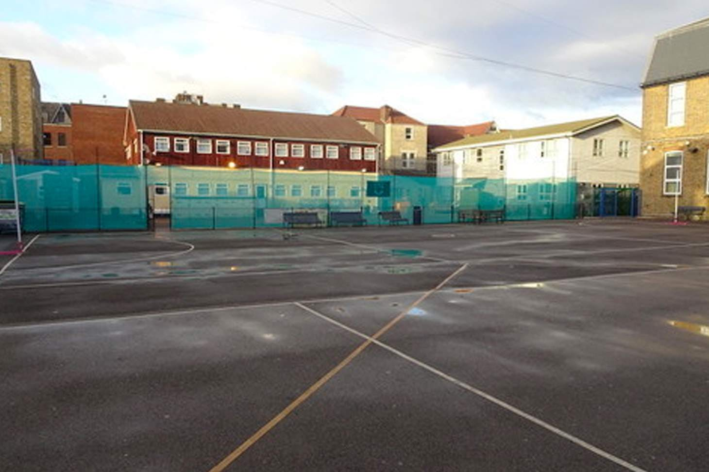 Ursuline Academy Ilford Court | Hard (macadam) netball court