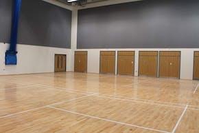 Oaklands School | Indoor Badminton Court
