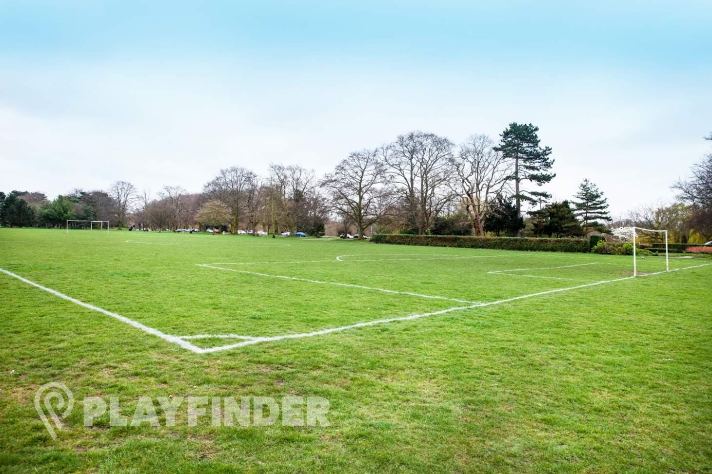 Russell Park 9 a side | Grass football pitch