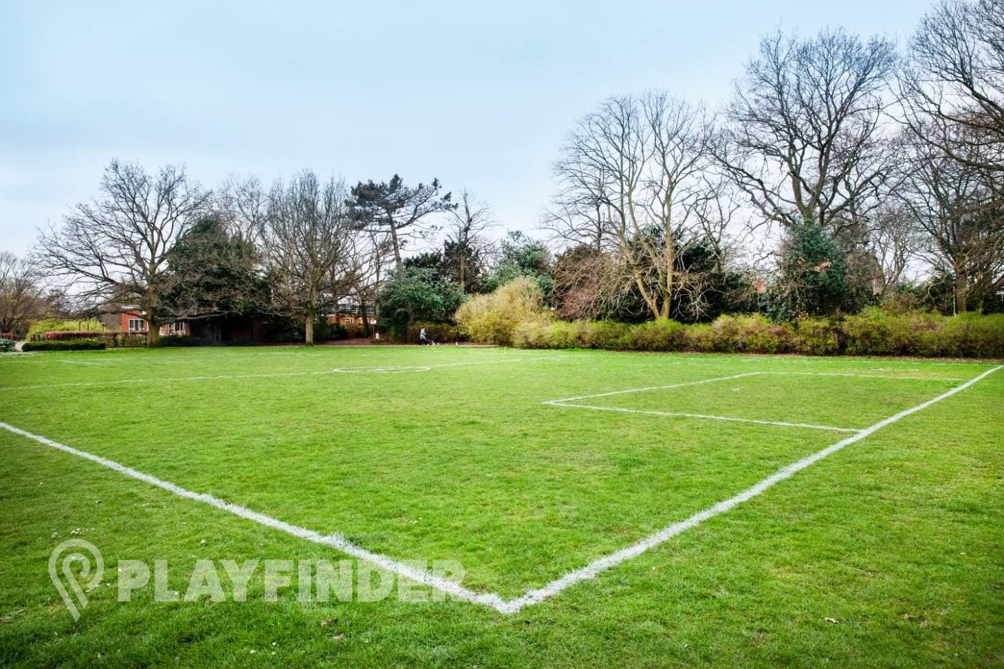 Russell Park 7 a side   Grass football pitch