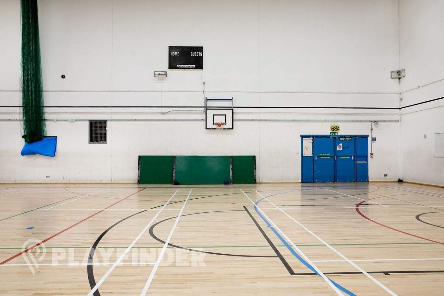 Somers Town Community Sports Centre Half court | Indoor basketball court
