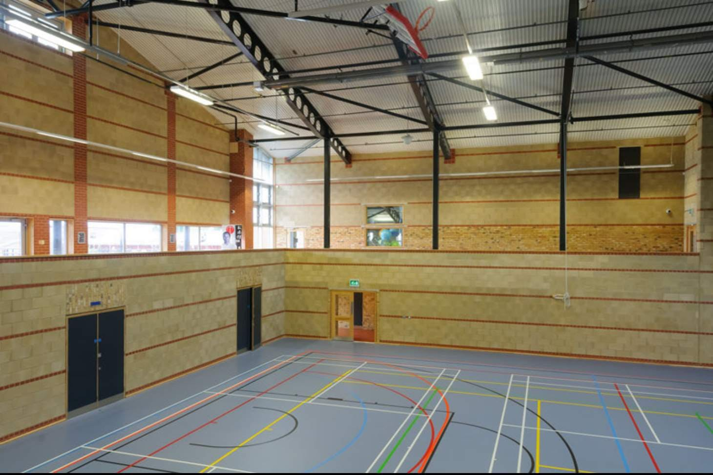 SBL Sports Centre Indoor badminton court