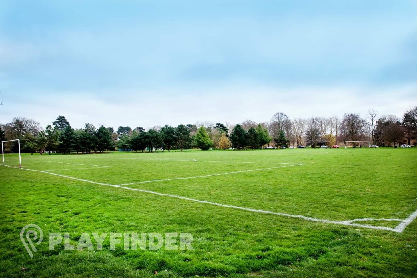 Russell Park 11 a side | Grass football pitch