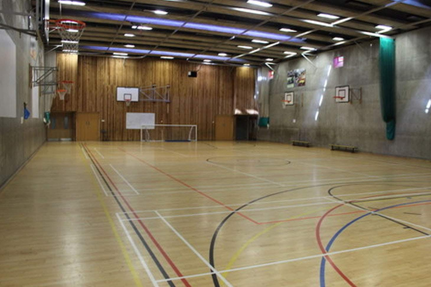 The Academy of St Francis of Assisi, Liverpool Indoor badminton court