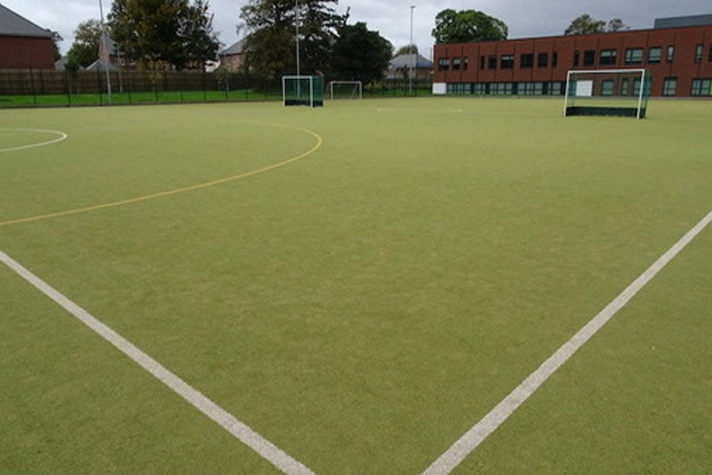 Holly Lodge Girls College 11 a side   Astroturf football pitch