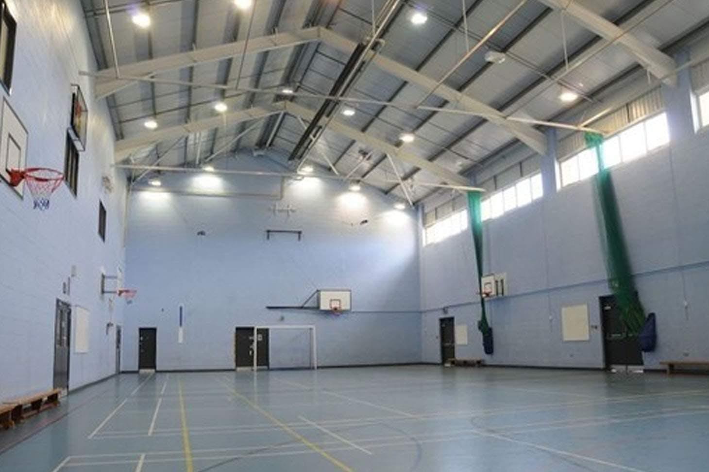 Childwall Sports & Science Academy Indoor badminton court