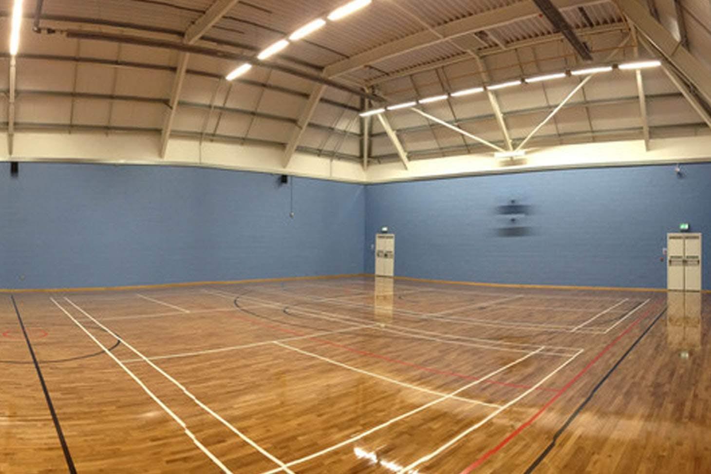 Sutton Coldfield Grammar School for Girls Indoor netball court