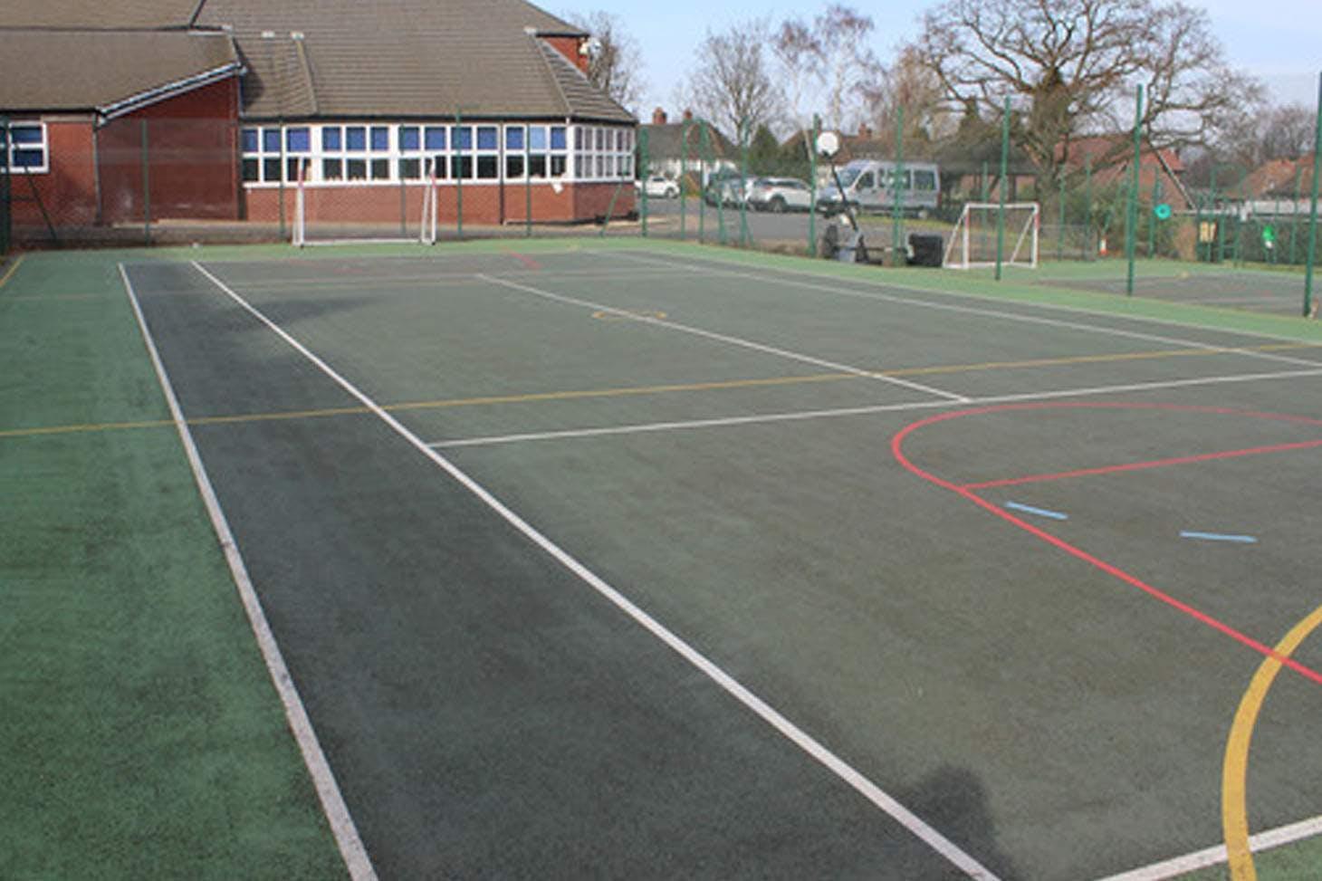 Sutton Coldfield Grammar School for Girls 5 a side   Hard (macadam) football pitch