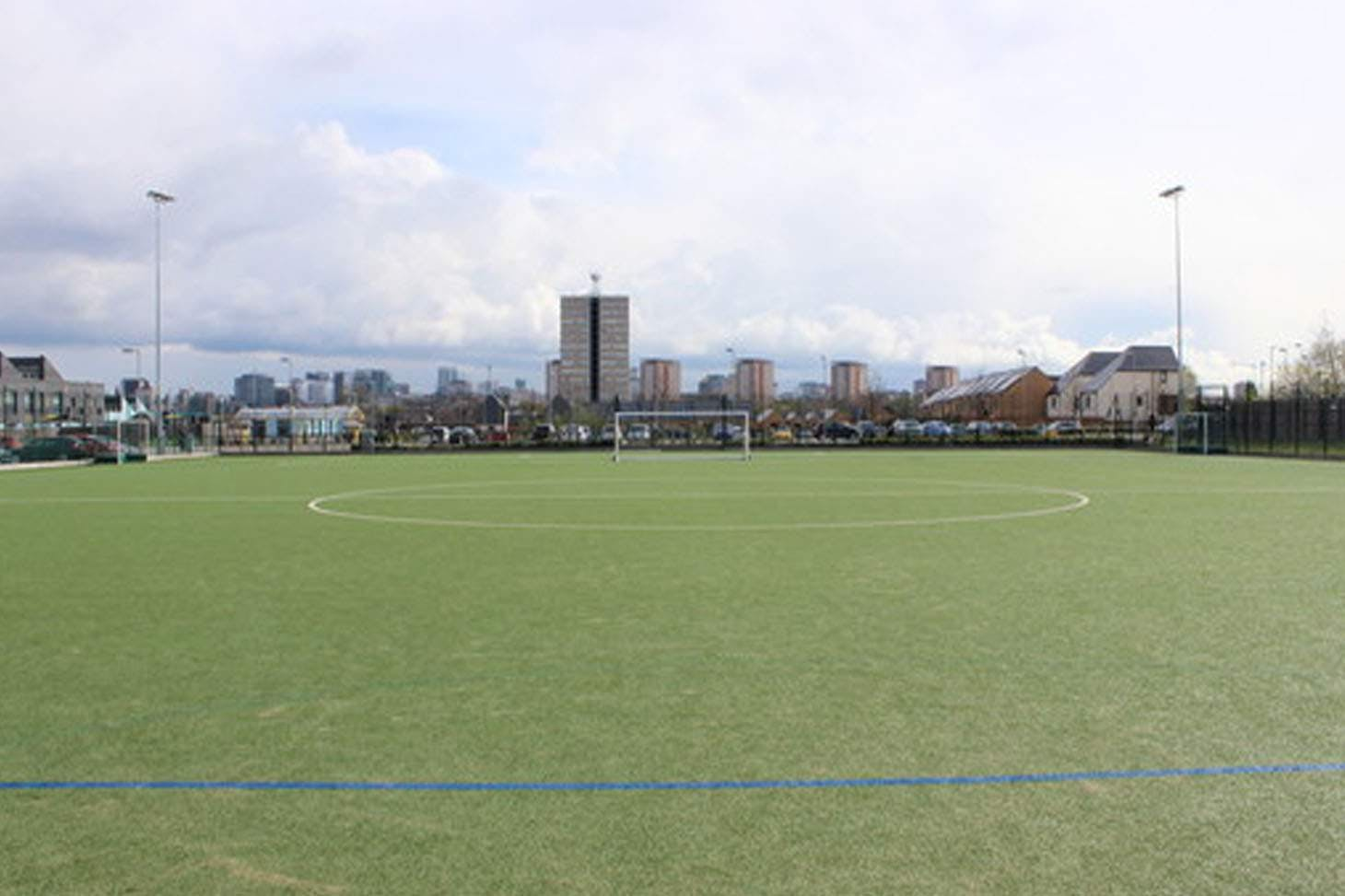 Holte School 11 a side   Astroturf football pitch