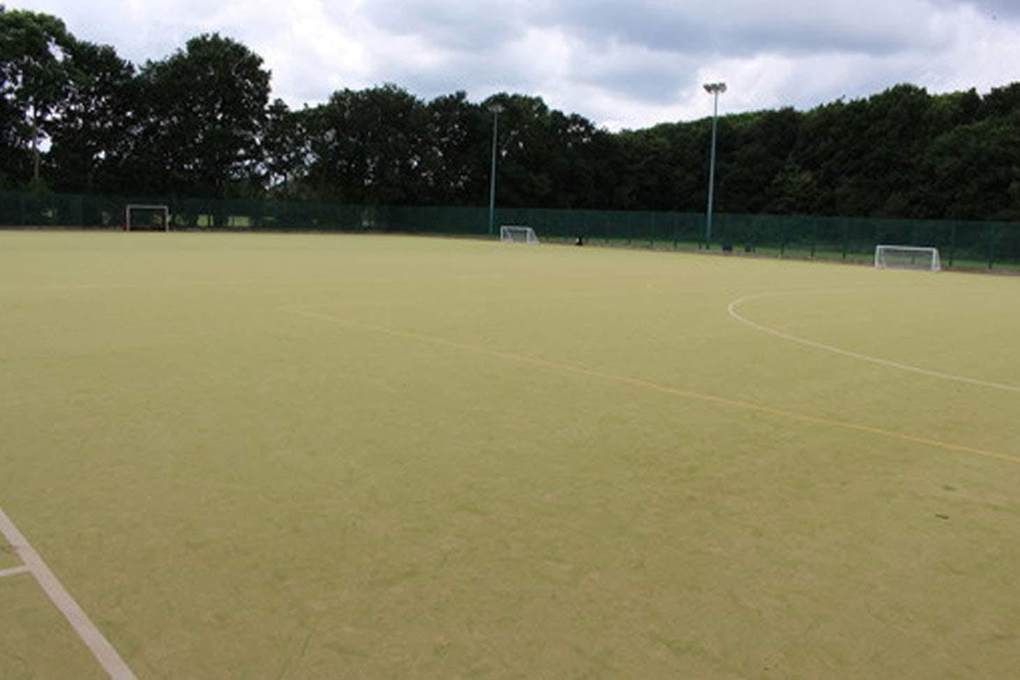 Light Hall School Outdoor   Astroturf hockey pitch