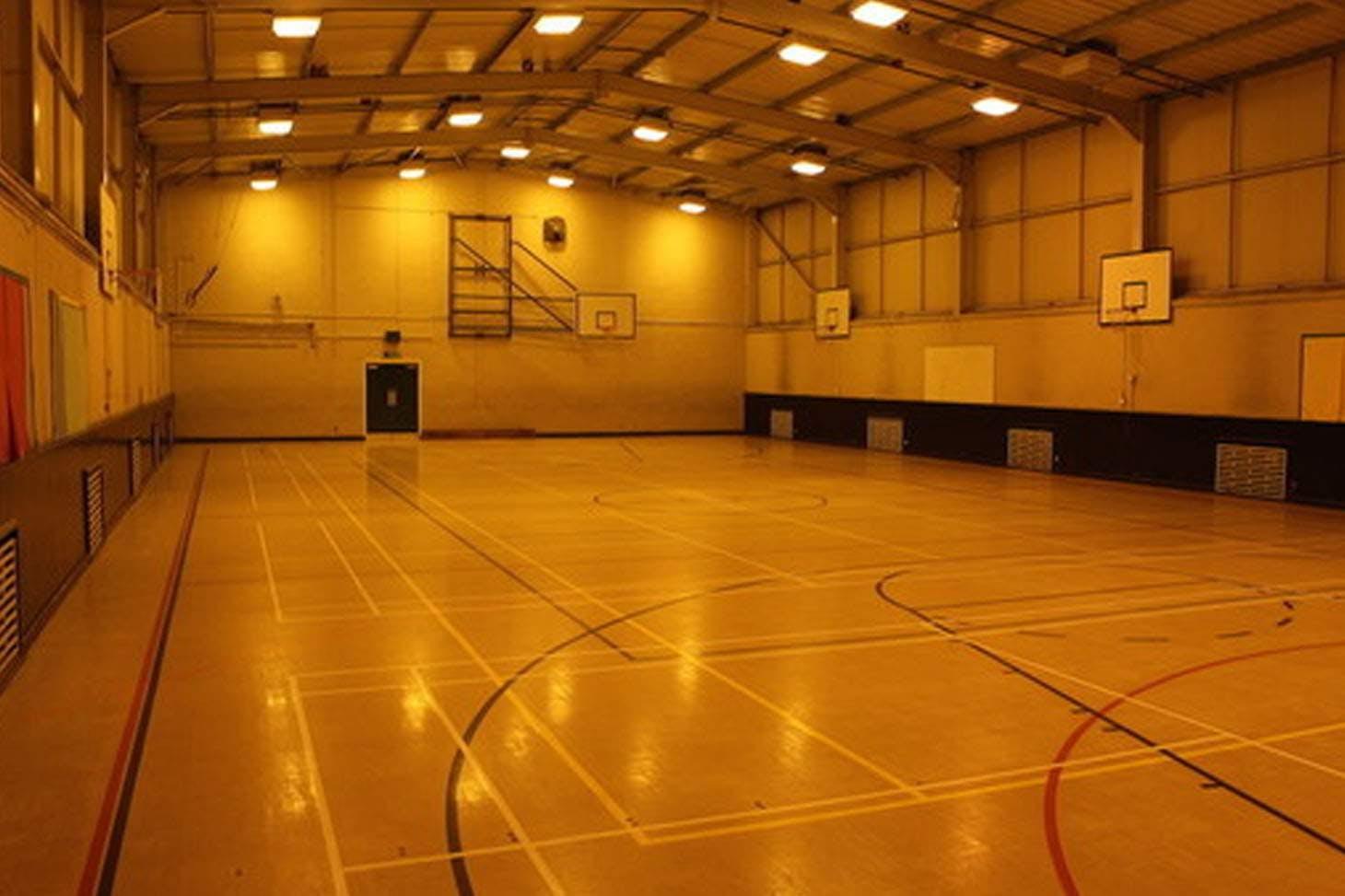 Light Hall School Indoor badminton court