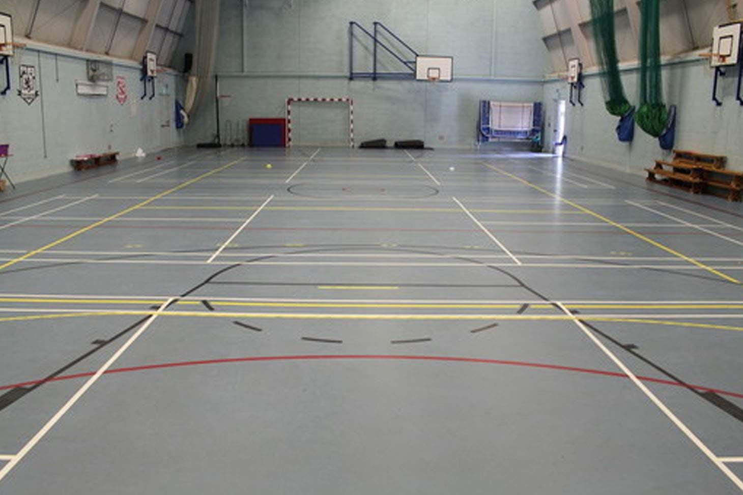 St Edmund Campion Catholic School & Sixth Form Centre Indoor badminton court