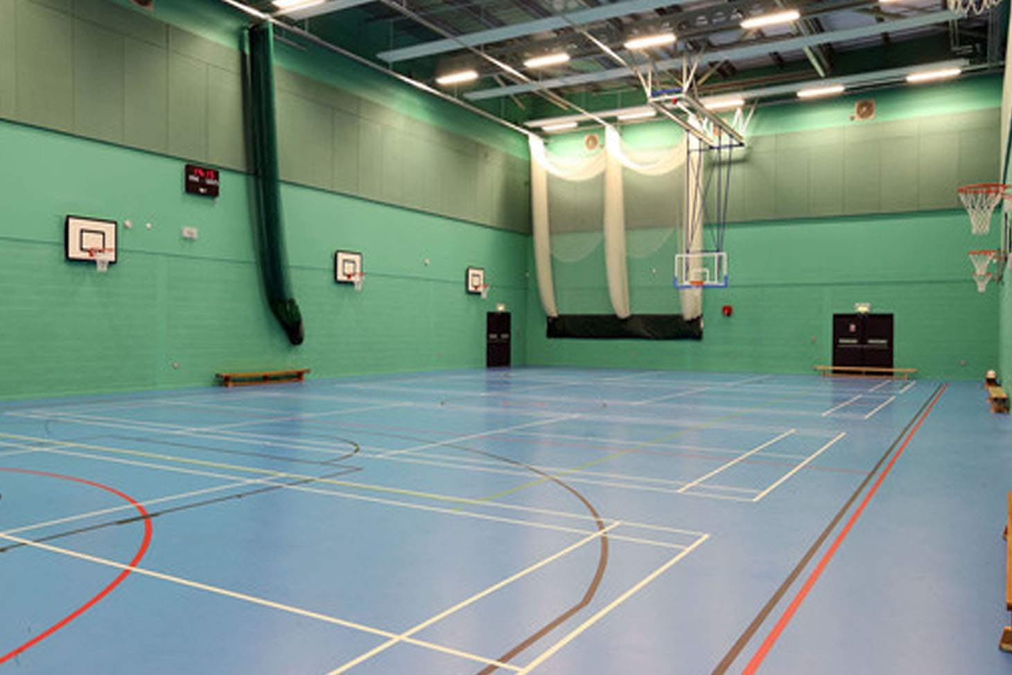 Harborne Academy Nets | Indoor cricket facilities
