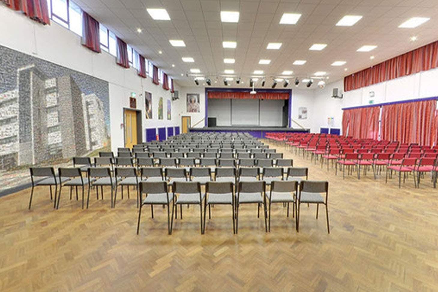 Tudor Grange Academy Kingshurst Main hall space hire