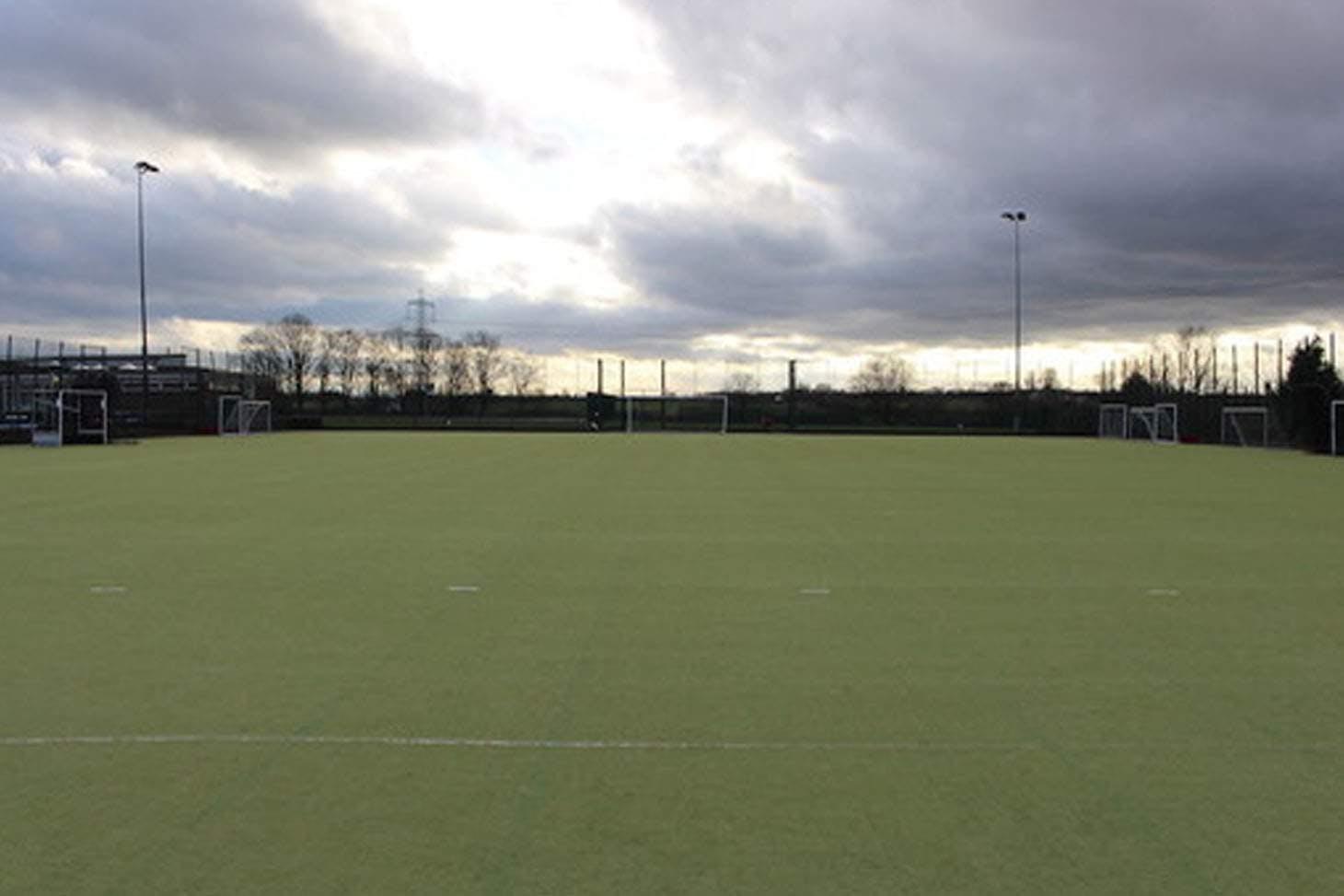 Egglescliffe School Outdoor   Astroturf hockey pitch