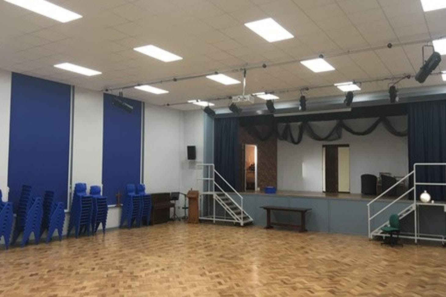 Bishop Rawstorne CE Academy Main hall space hire
