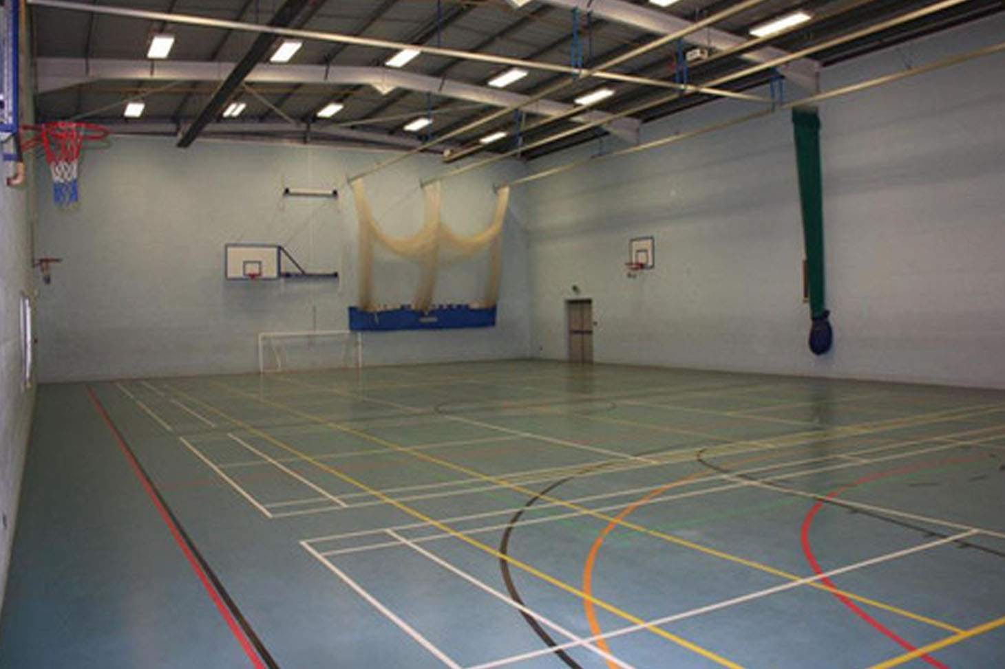 Bishop Rawstorne CE Academy Nets | Sports hall cricket facilities