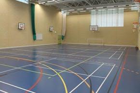 Moor Park High School and Sixth Form | Indoor Badminton Court