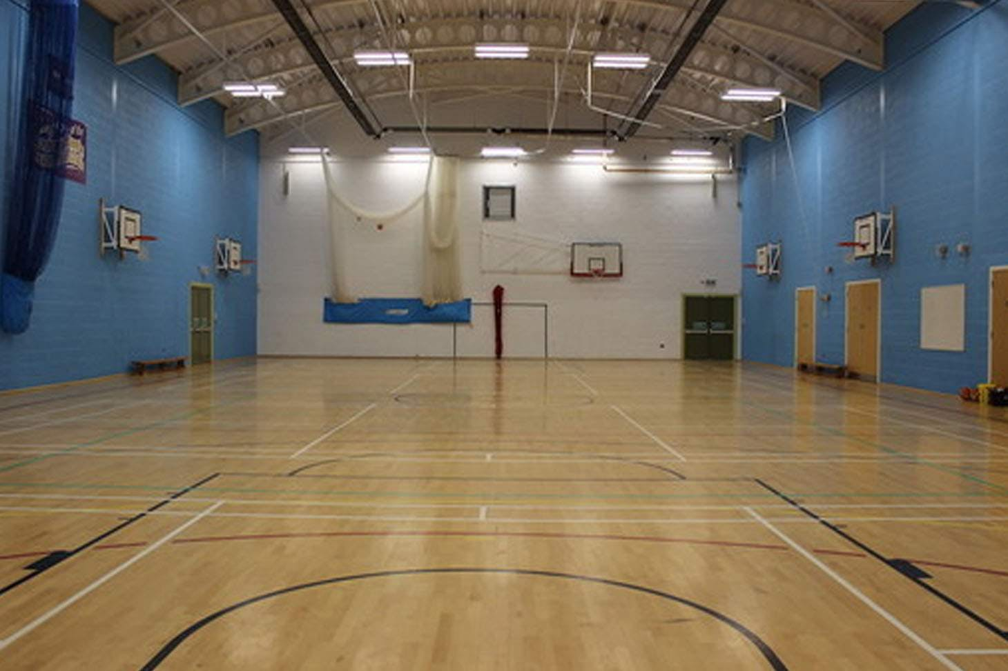 Garstang Community Academy Nets | Indoor cricket facilities