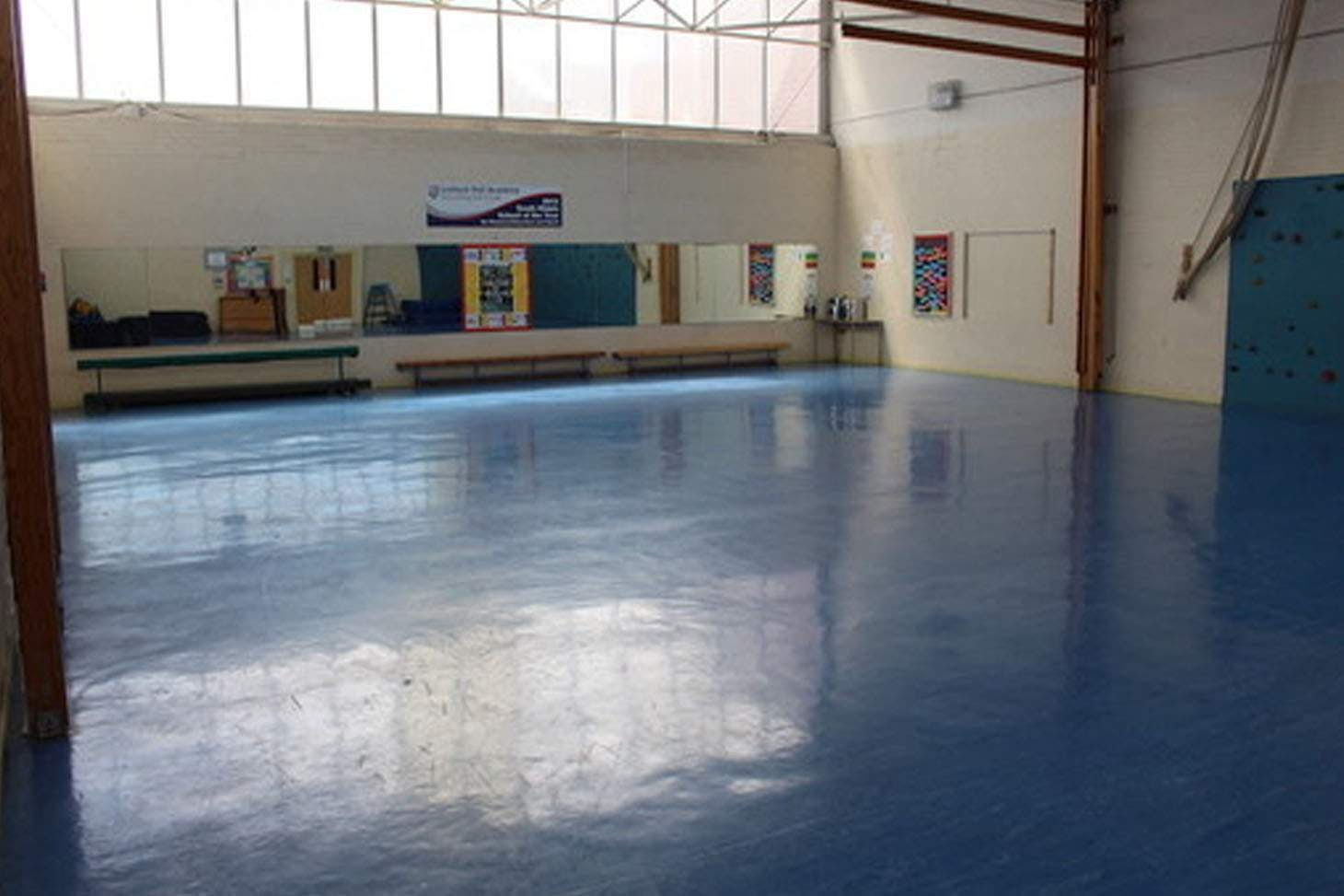 Lostock Hall Academy Gymnasium space hire