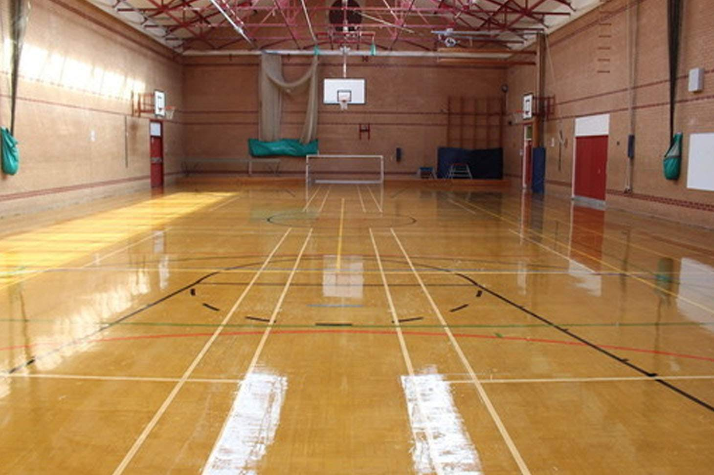 Ashton Community Science College Nets | Sports hall cricket facilities