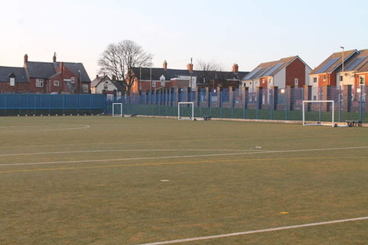 Whitburn C of E Academy Training pitch   Sand-based Astroturf rugby pitch