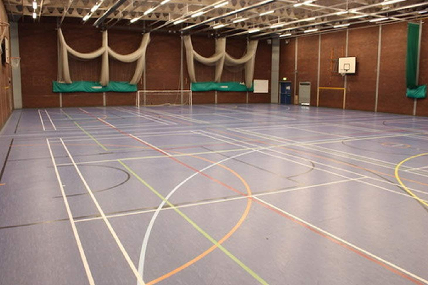 Queens Park High School 5 a side | Indoor football pitch