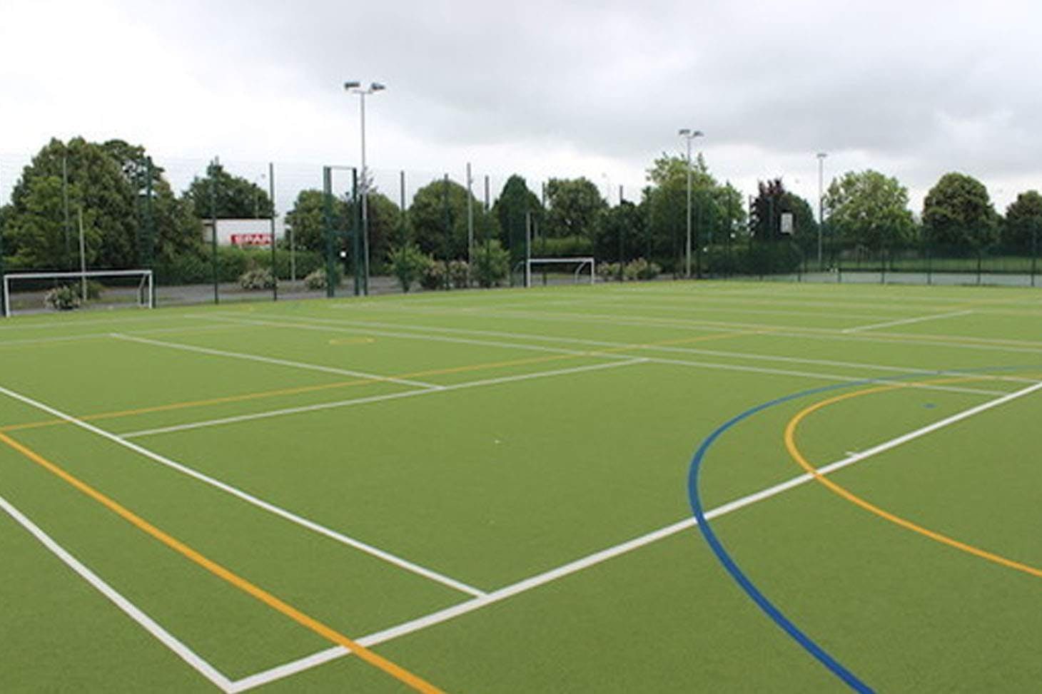 Upton By Chester High School 5 a side | Astroturf football pitch