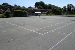 Bury C of E High School | Hard (macadam) Tennis Court