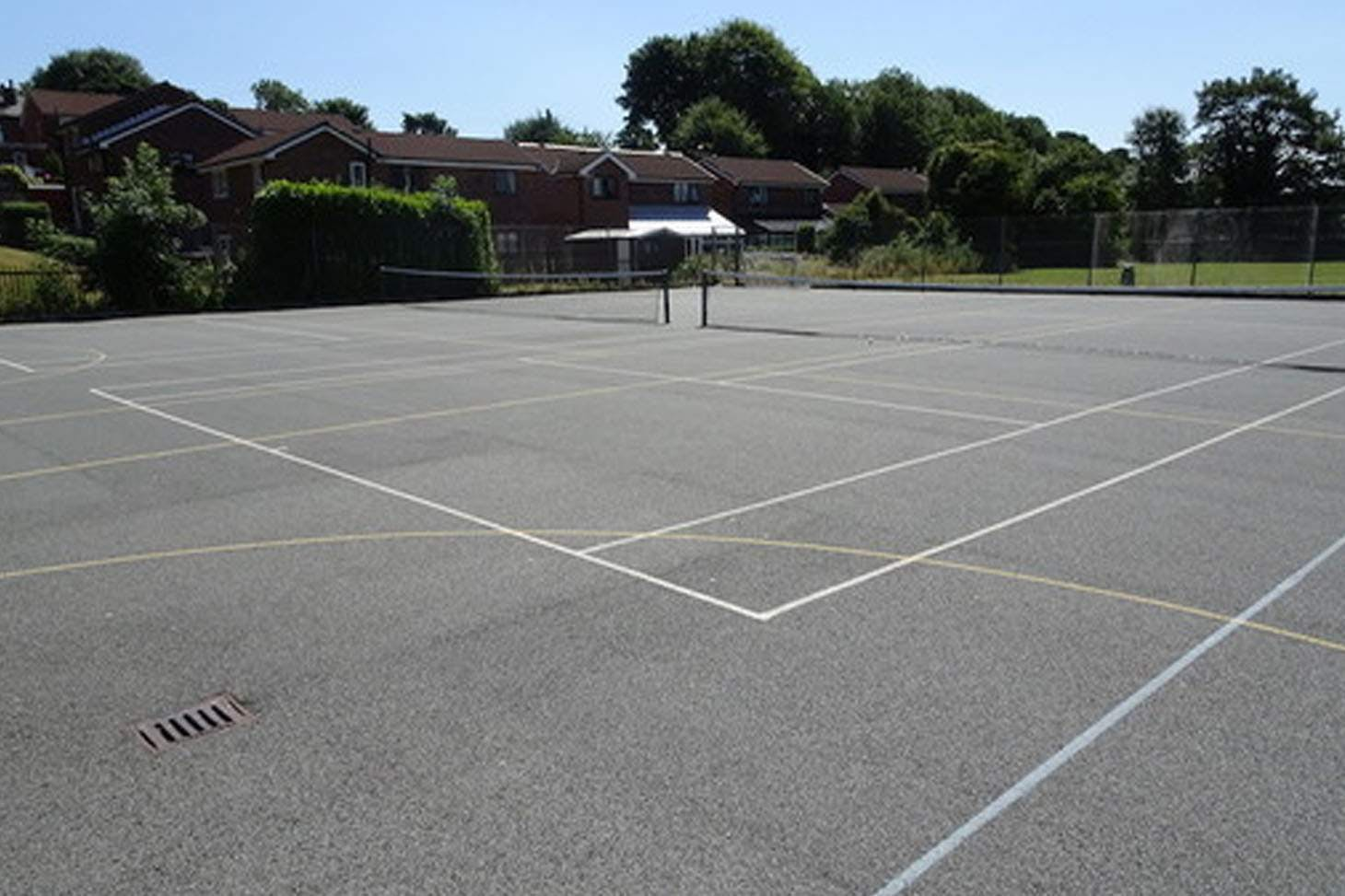 Bury C of E High School Outdoor | Hard (macadam) netball court