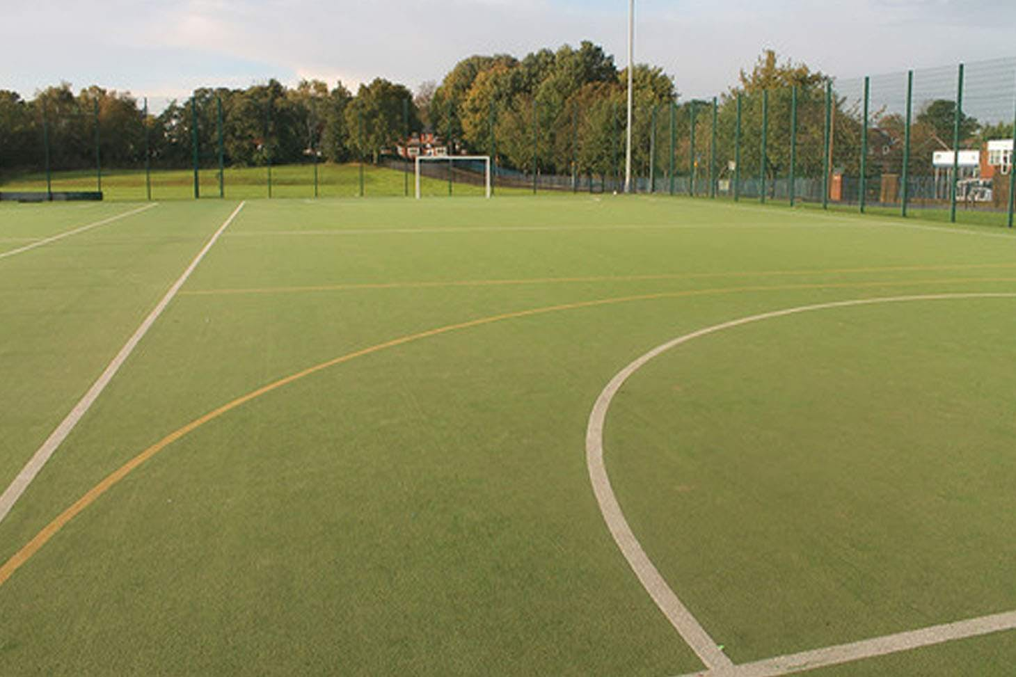 St. James's C of E High School Outdoor | Astroturf hockey pitch