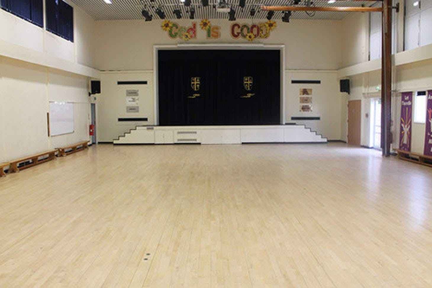 St. James's C of E High School Theatre space hire