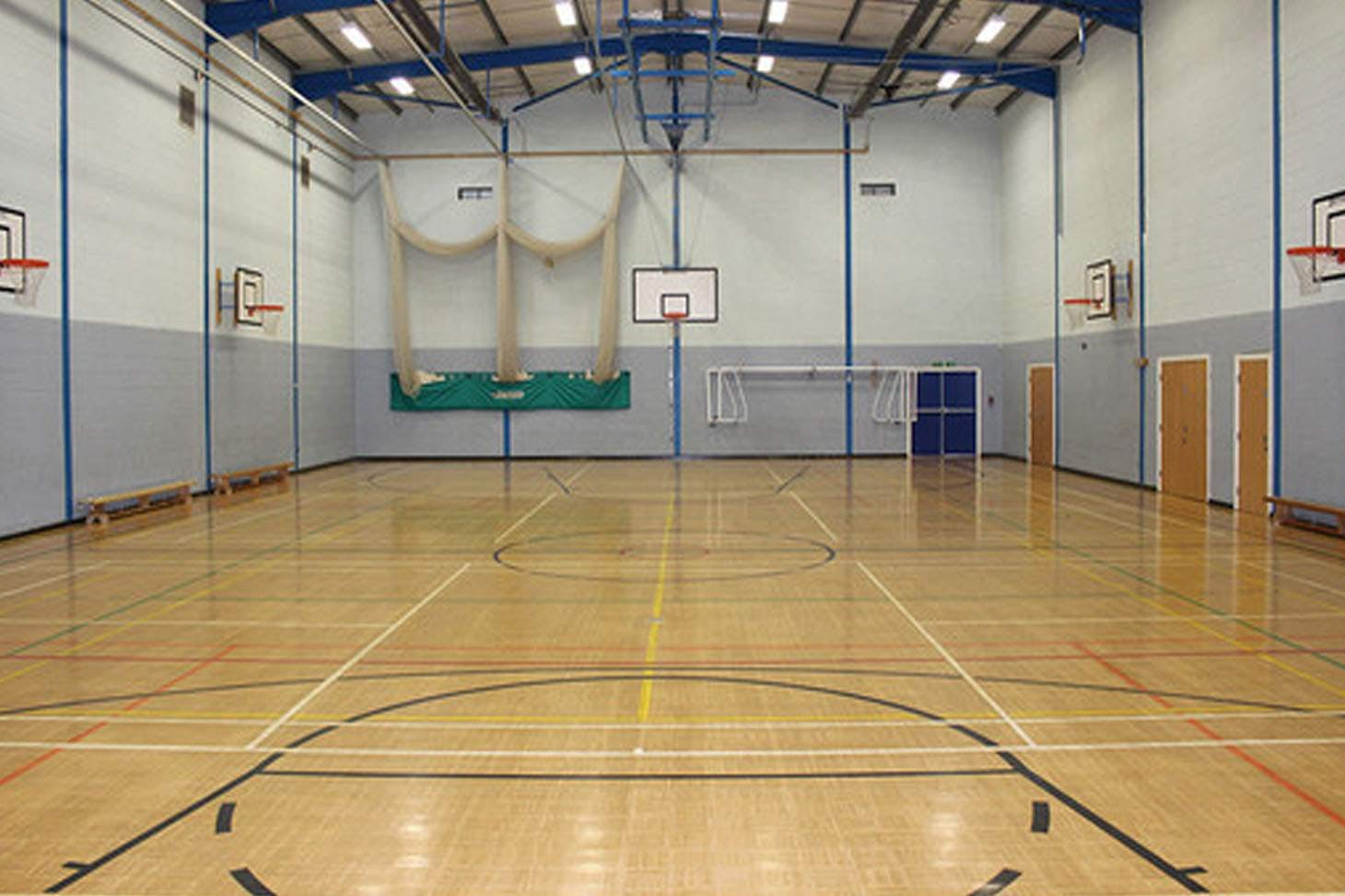 St. James's C of E High School Indoor cricket facilities